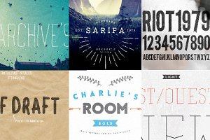 Six Fonts Bundle