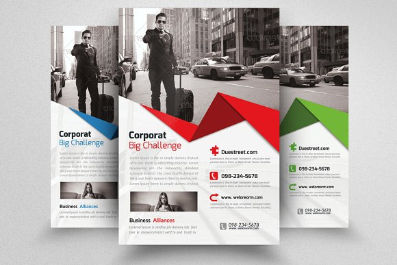 Business Tour Flyer Template Flyer Templates Creative Market