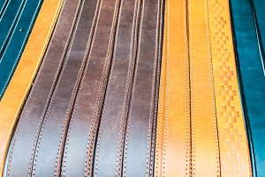 Belts Leather Background