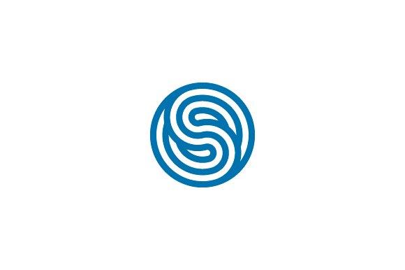 S Symbol Logo Synchro - Symbo...