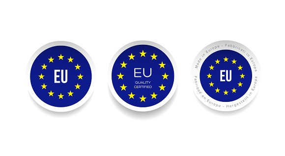 Made In EU Stickers