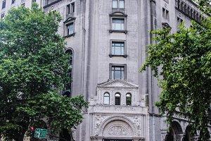 Vintage Building Detail