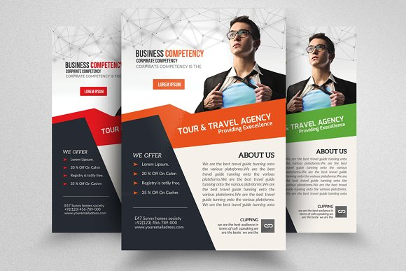 Business Training Flyer Templates Creative Market
