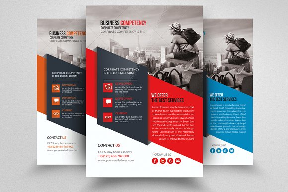 Business Tourist Flyer Template