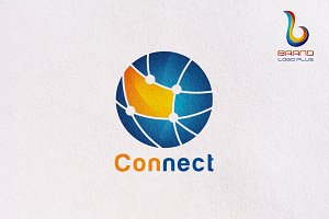 Circle Connect Logo Templates