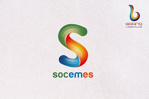 3D Custom Lette Logo Design Template