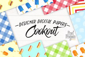 Summer Digital Paper Pack