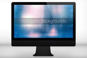 15 Frozen Backgrounds