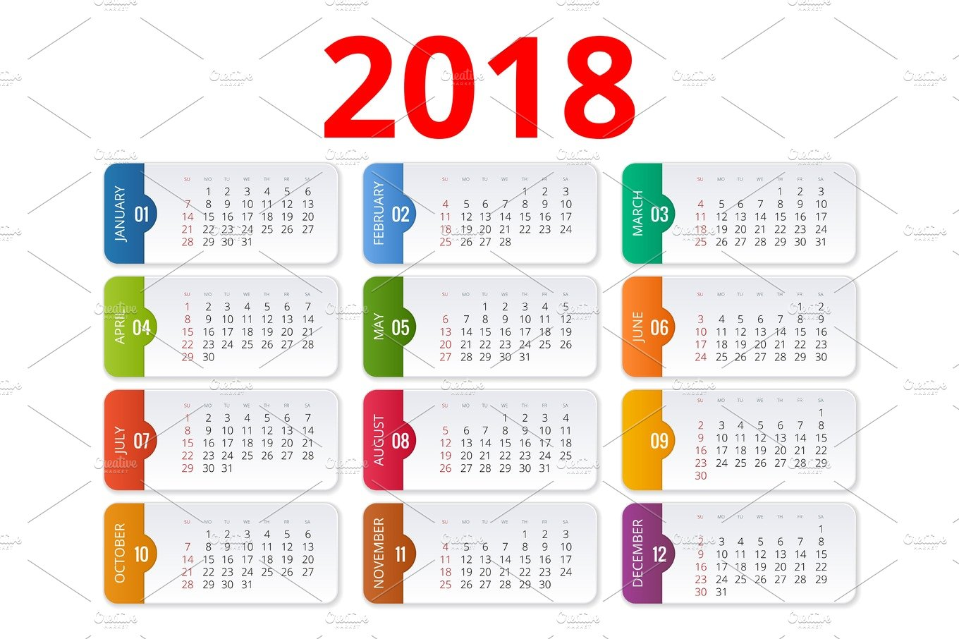 mark your 2018 calendar creativemarketcom