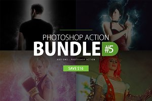 Photoshop Action Bundle #5