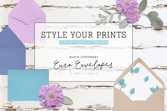 Download Floral Stationery Mockup Creator