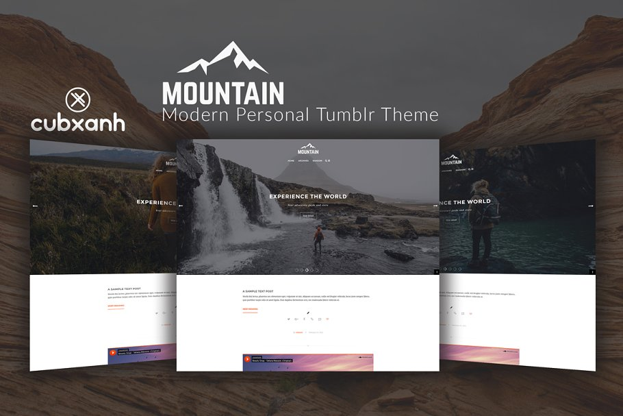 Mountain - Personal Tumblr Theme