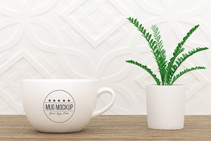 Coffee Mug Mockup v4
