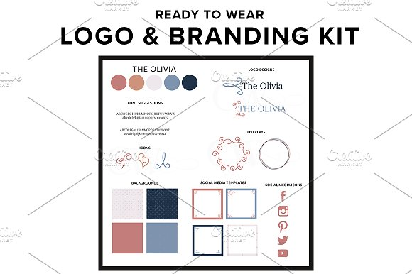 Logo Template Branding Kit