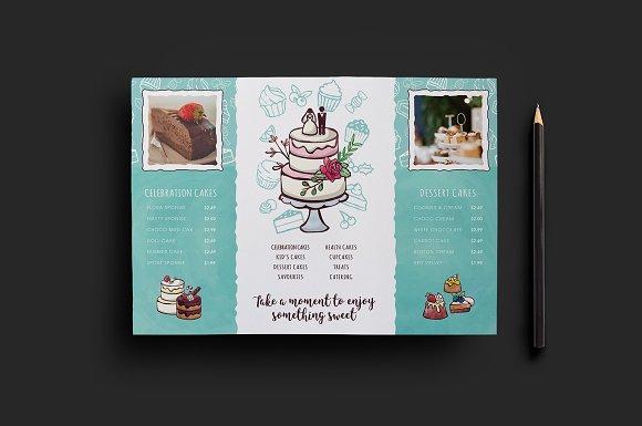 Cake Shop Flyer Template V2