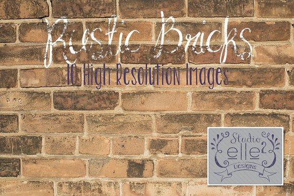 Rustic Brick vol.#1 - Textures