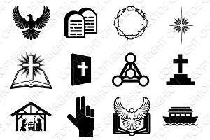 Christian religious icons