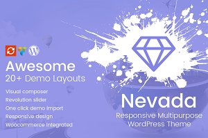 Nevada - Responsive WordPress Theme