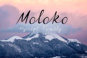 Moloko script family