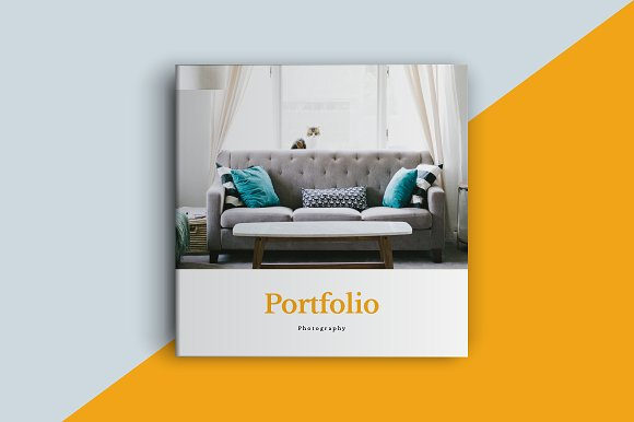 Square Portfolio Brochure Template