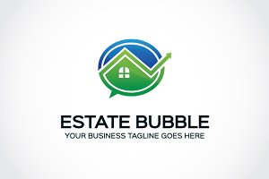 Estate Bubble Logo Template