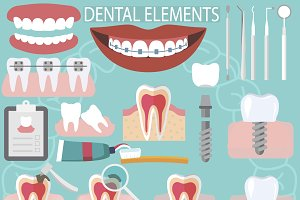 Dental elements mega set