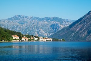 View of Kotor Bay near Stoliv
