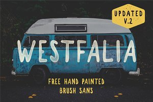 Westfalia V.2 - Hand Drawn Font