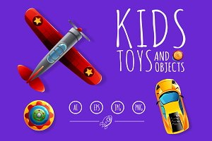 Kids Toys and Objects