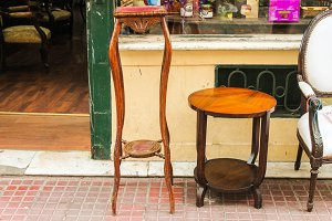 Vintage Furniture in the Street
