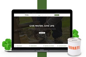 Hugs Charity/Nonprofit Template PSD