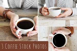3 Coffee-Themed Stock Photos