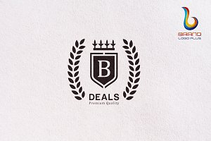 Deal Crown Logo Design Templates