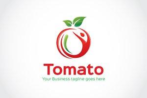 Tomato Logo Template