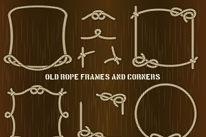 Old Rope Frames and Corners