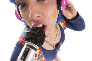 Hippie singing