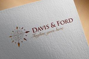 Classic Logo - 'Davis & Ford'