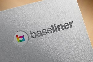 Startup Logo - 'BaseLiner'