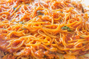 Italian Spaghetti with minced beef
