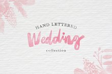 Hand Lettered Wedding Collection