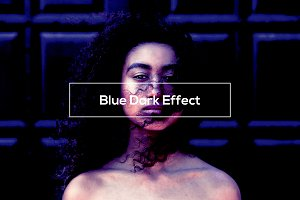 Blue Dark Effect