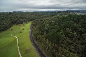View of Cardinia Reservoir Park