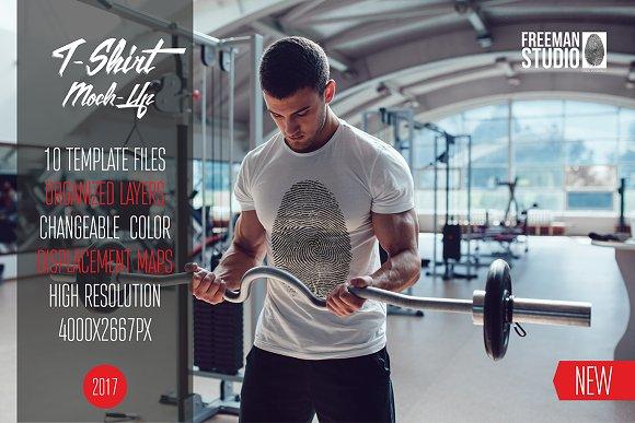 Download Sport T-Shirt Mock-Up Vol.2 2017