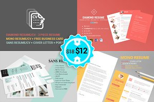 Resume - CV - No1 Bundle