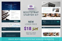 Bootstrap Starter Kit - Web Edition