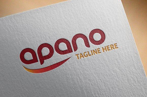 Startup Logo Apano'