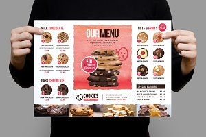 Cookie Shop Poster Template v2