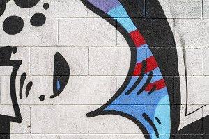 Detail of a graffiti