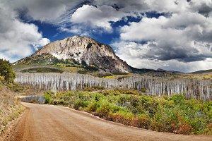 Marcellina Mountain, Colorado, USA