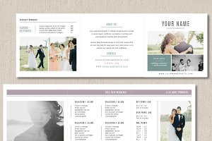 Photo Marketing Trifold Card